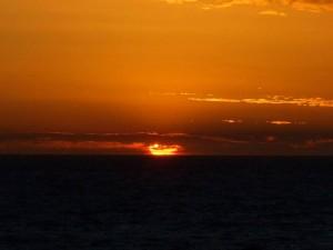 A stunning Cottesloe sunset