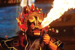 Sichuan Opera Fire Breathing