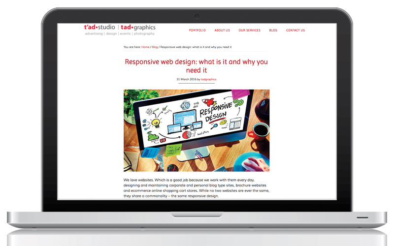 Blog - Responsive web design: what is it and why you need it