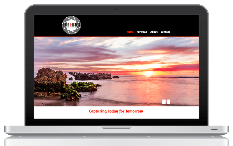 Websites - Flash Box Foto